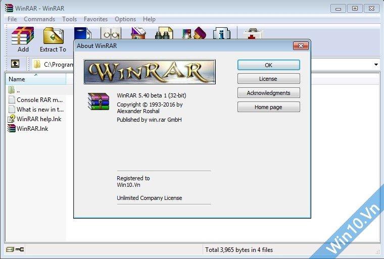 Download WinRAR 32bit 64bit 5 71 mới nhất + Key bản quyền