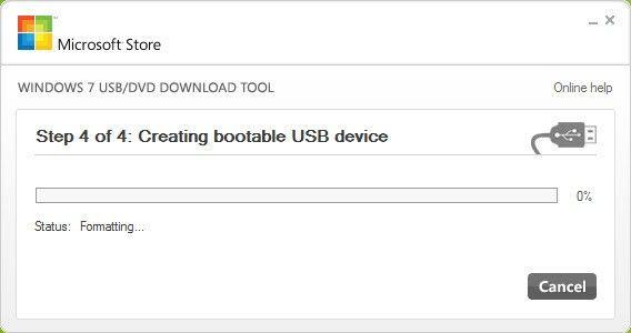 tạo bộ cài windows 10 từ usb