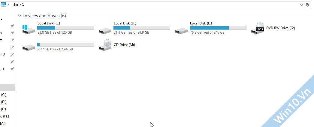 hide 6 folder