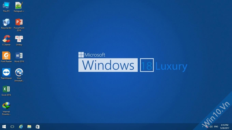 Ghost Windows 10 Luxury