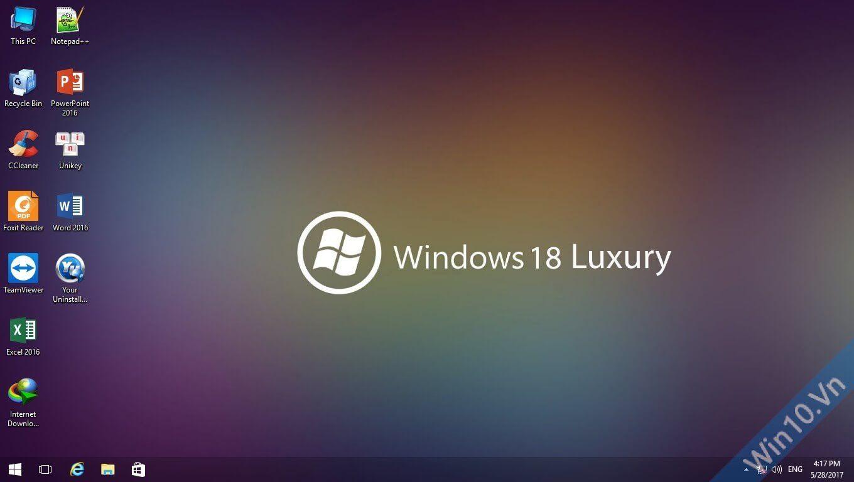 Ghost Windows 18 Luxury