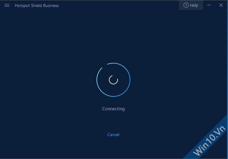 Hotspot Shield VPN đang kết nối