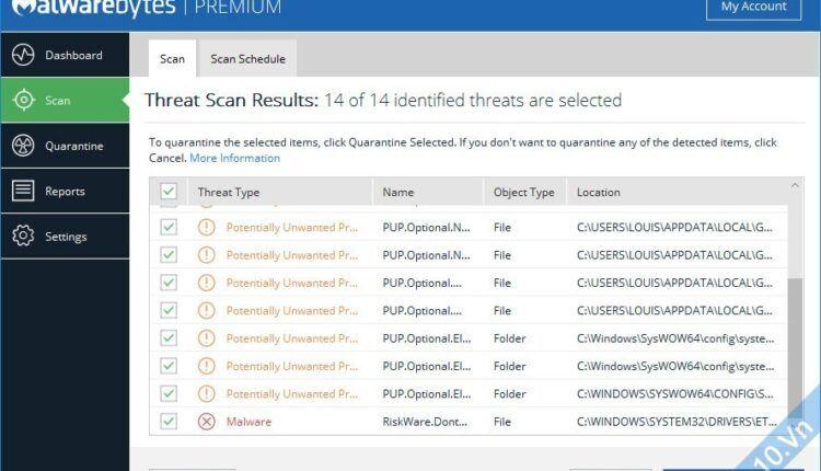 Download Malwarebytes Premium v3.2.2.2029 Silent Install