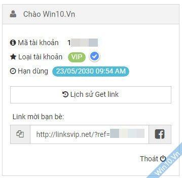 Share acc VIP Linksvip.net