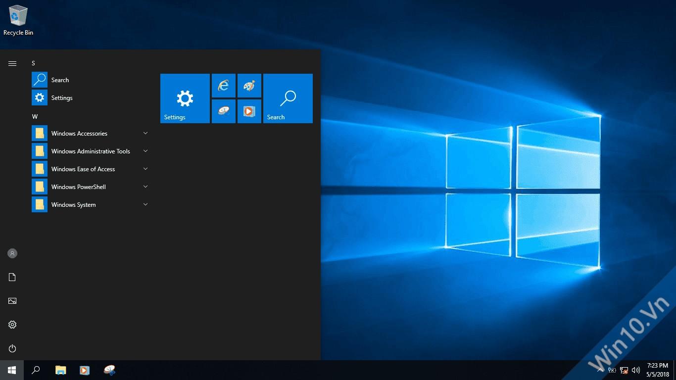 windows 10 lite 1803