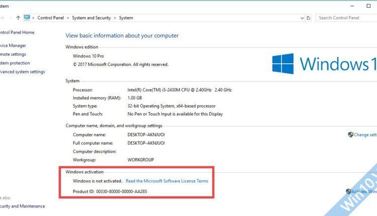 Active Windows 10 bản quyền kỹ thuật số vĩnh viễn – hình 1