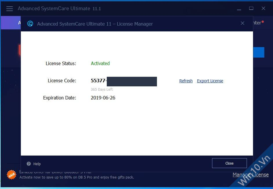 Key Advanced SystemCare Ultimate