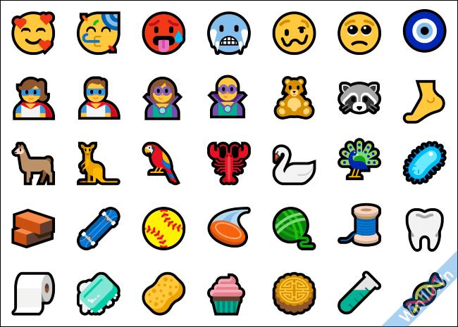 Emoji Windows 10 Redstone 5