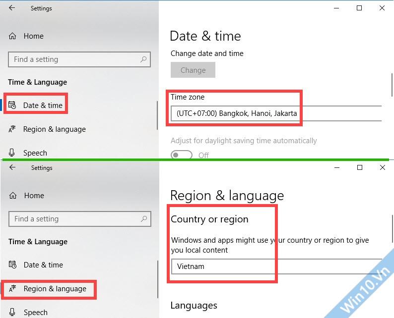Time & Language