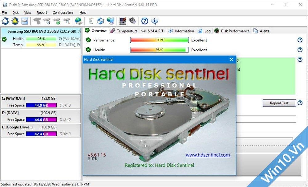Hard Disk Sentinel Pro 5.61.15