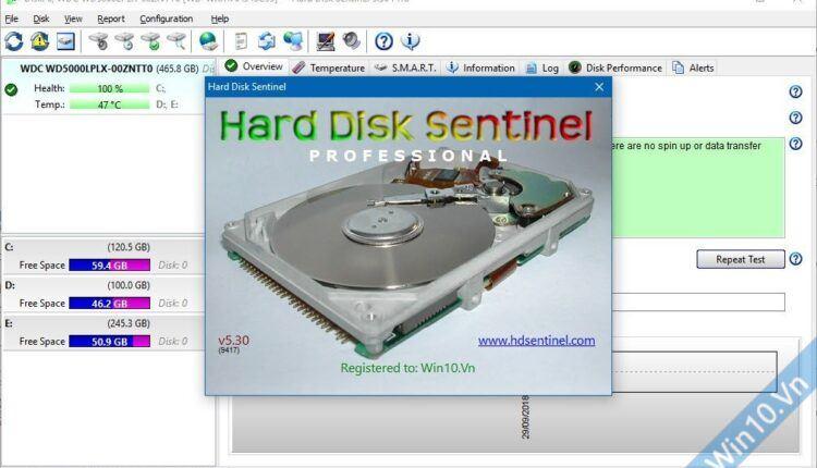Hard Disk Sentinel Professional 5.30 Full License