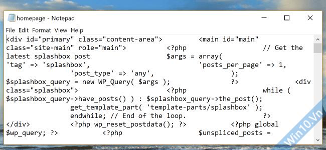 notepad error