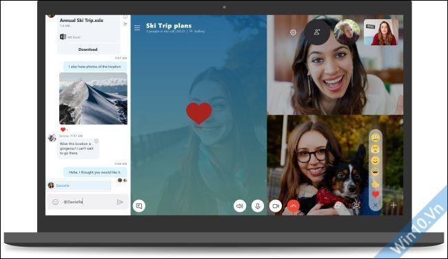 Skype Windows 10 1809