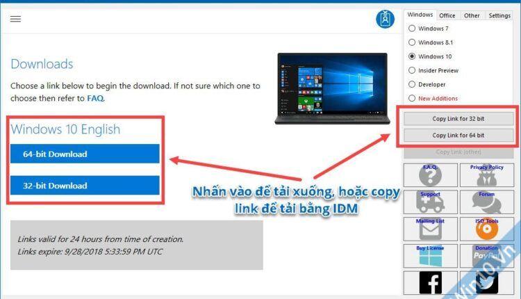 Windows ISO Downloader- hình 2