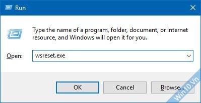 Reset the Windows Store Cache