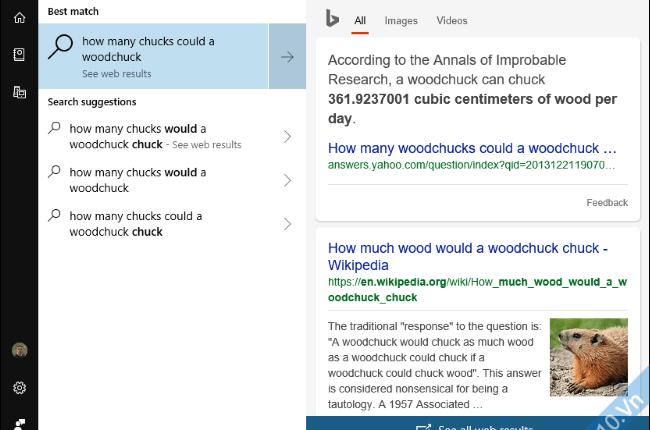 Xem trước kết quả tìm kiếm