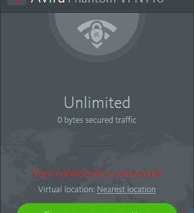 Avira Phantom VPN Pro 2.16.1.16182