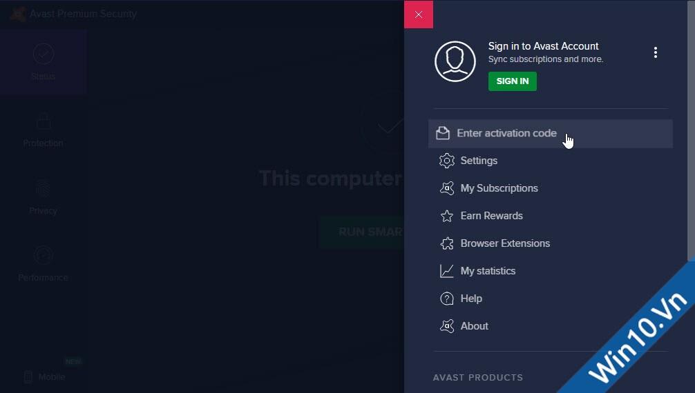 Avast Premium Security 2020 + License Key bản quyền