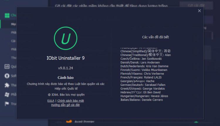 IObit Uninstaller Pro 9.1.0.24