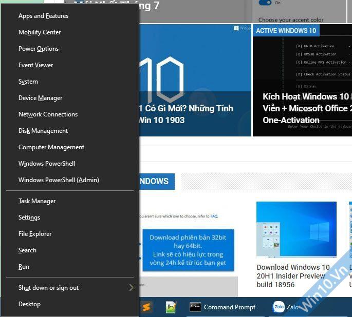 Mở Windows PowerShell