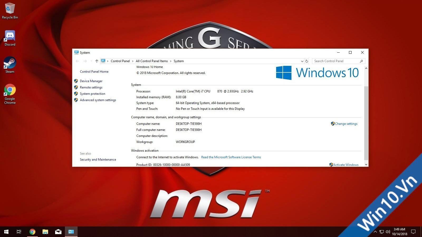 Windows 10 Gaming Edition - hình 2