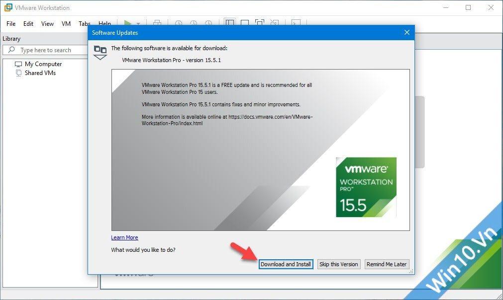 VMware mới nhất
