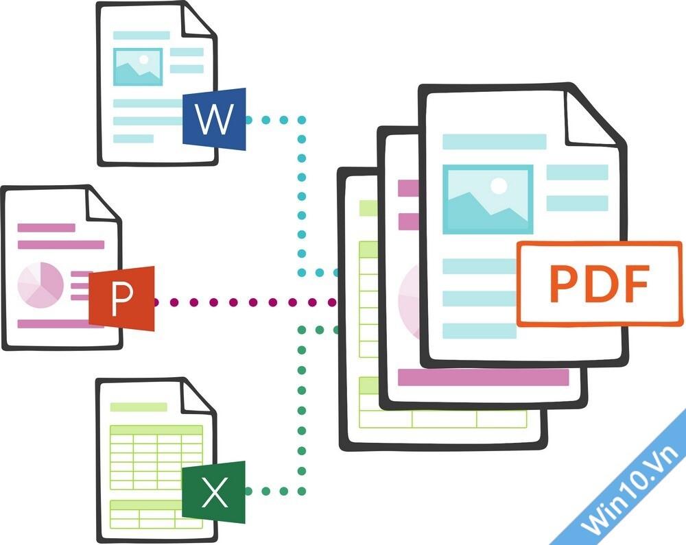gộp file PDF